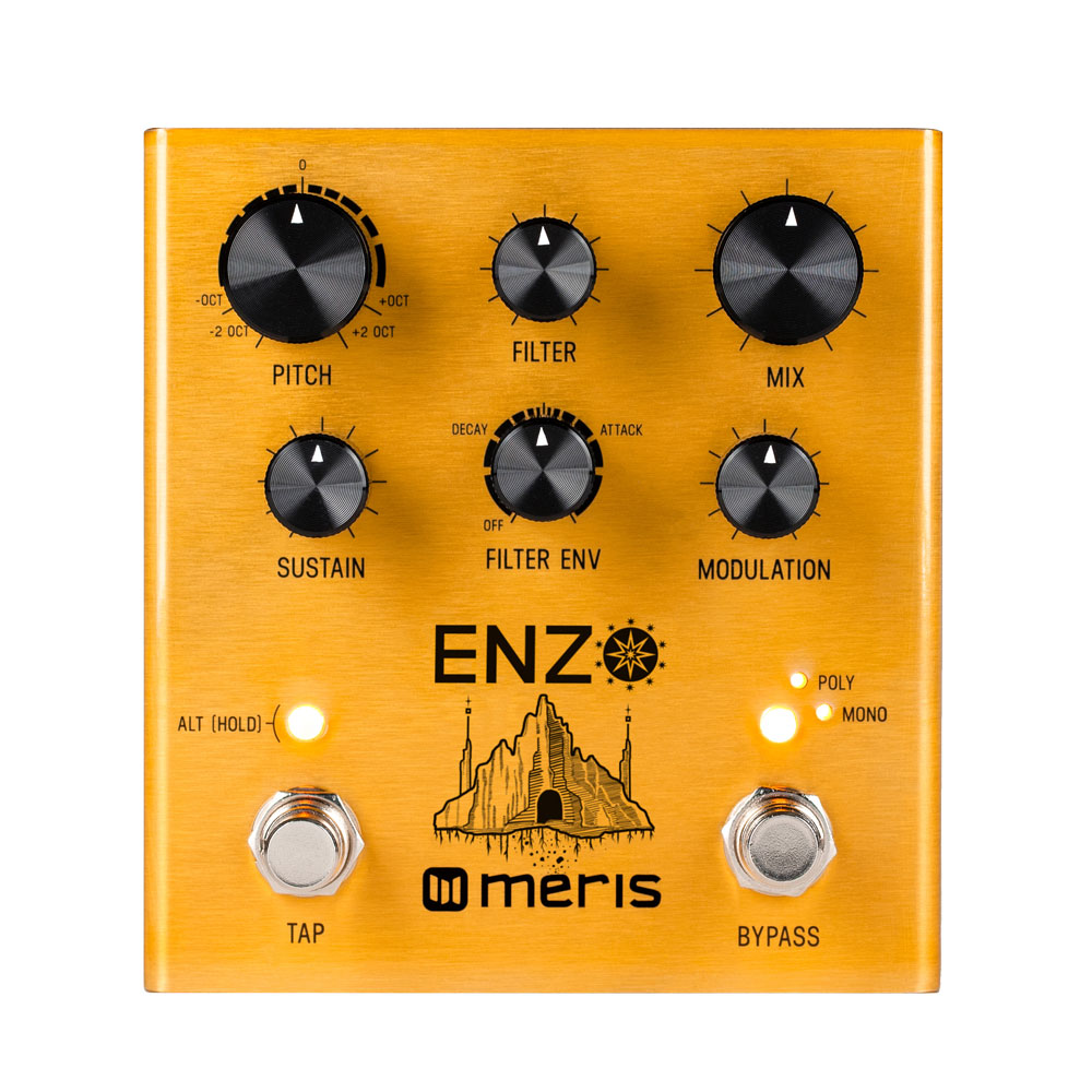 meris announce enzo multi voice synthesizer pedal all things guitar. Black Bedroom Furniture Sets. Home Design Ideas