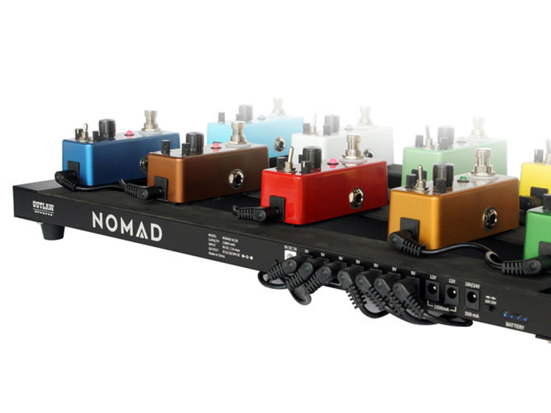 Outlaw Effects reveals the Nomad pedalboard