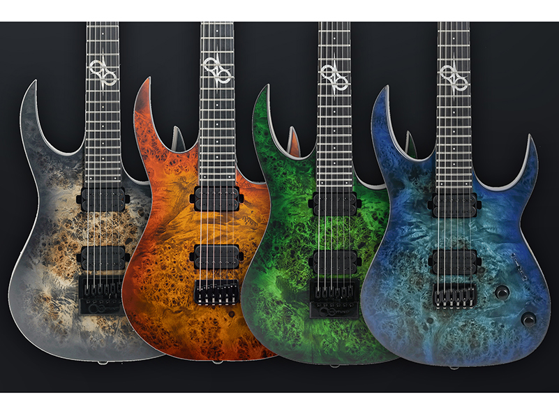 Solar Guitars launches four stunning S-series guitars