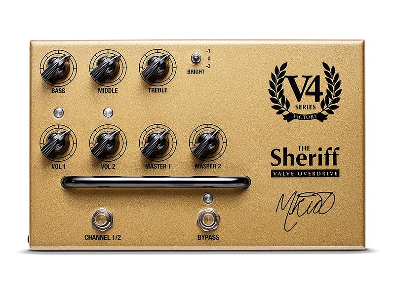 victory v4 sheriff pedal