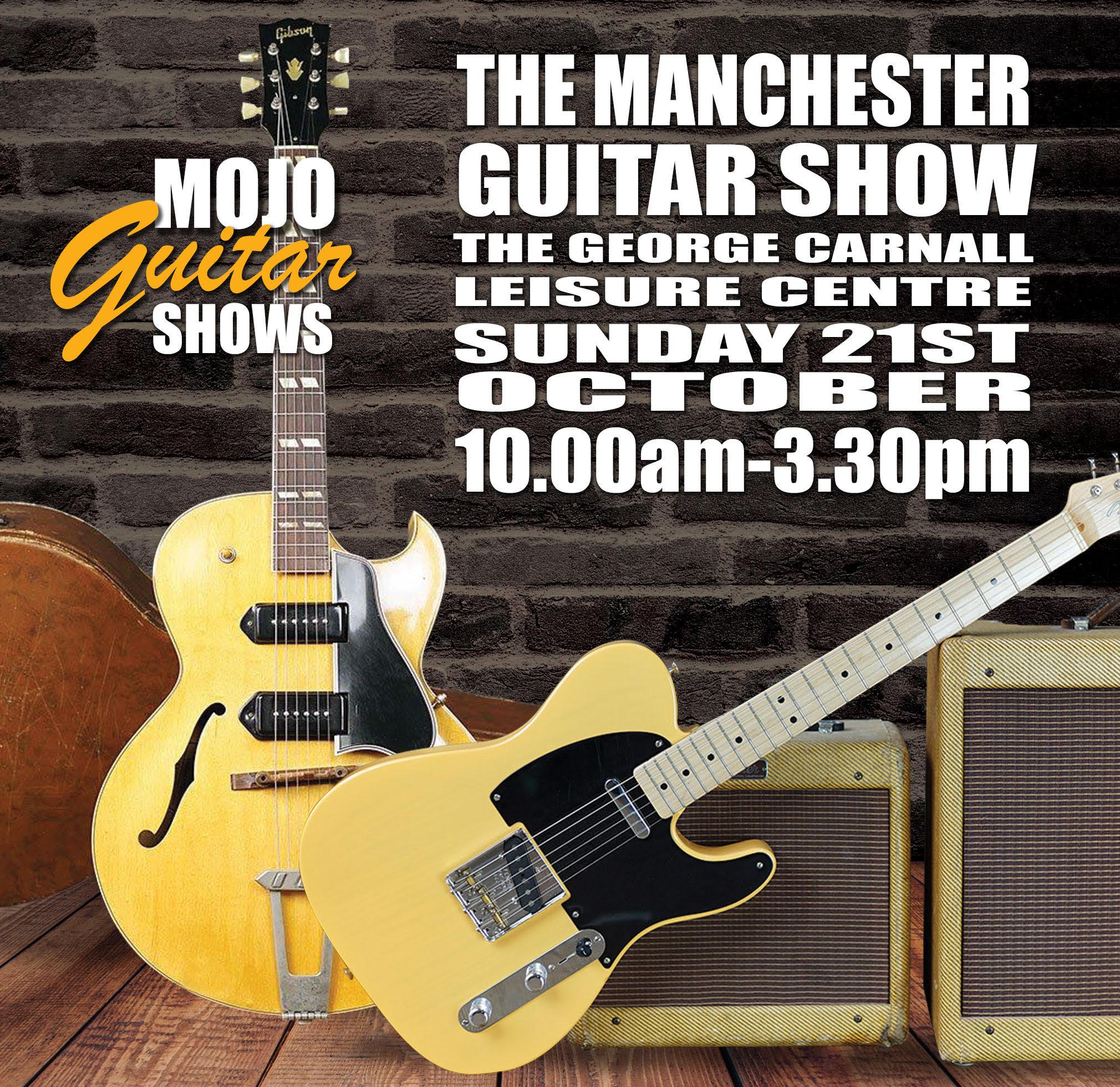 Press Release: Manchester Guitar Show returns for 2018