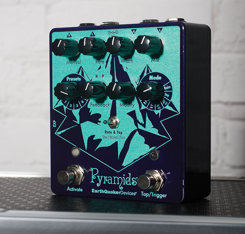 Win! An EarthQuaker Devices Pyramids stereo flanger!