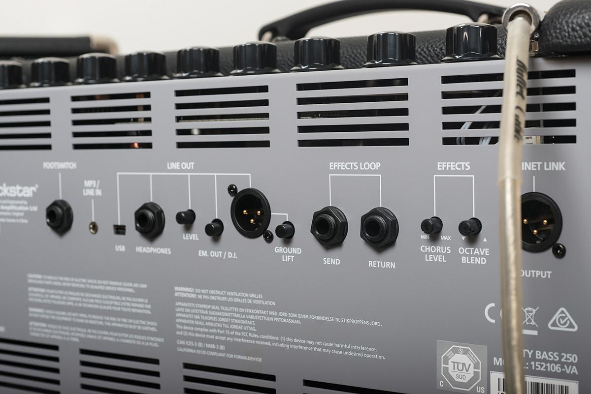 Blackstar Unity 250 & 500 Bass Amps