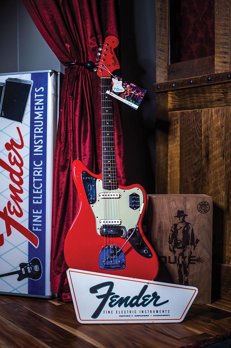 1963 Fender Jaguar in Fiesta Red
