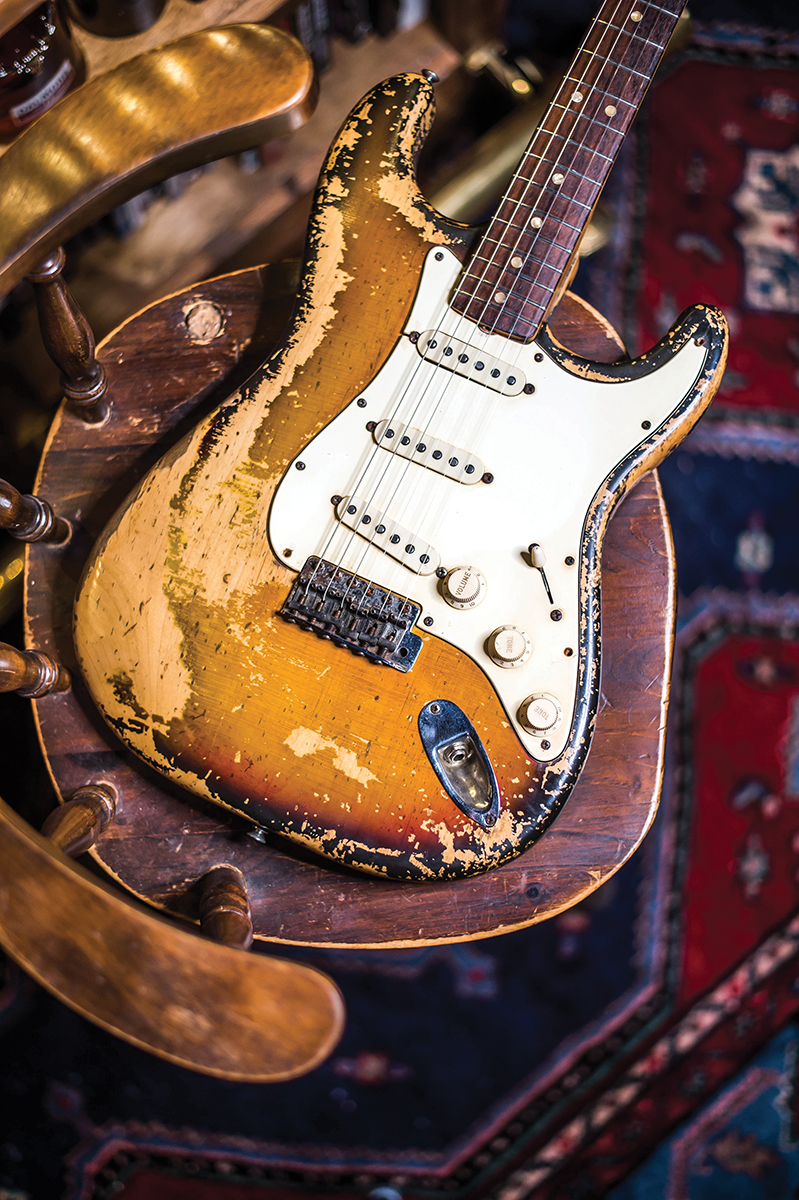 1969 Stratocaster formerly owned by Chris Traynor of Bush