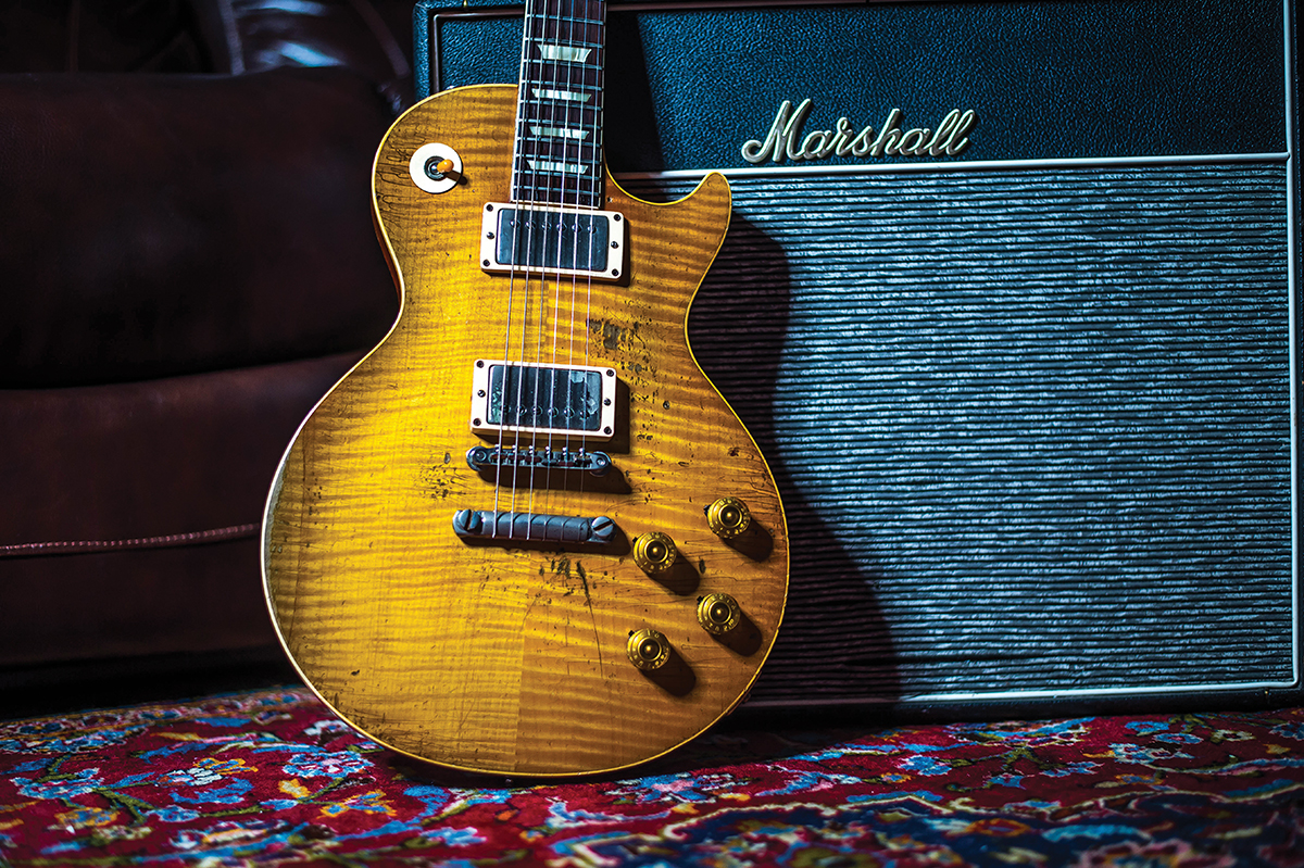 1959 Gibson Les Paul Standard previously owned by Free legend Paul Kossoff