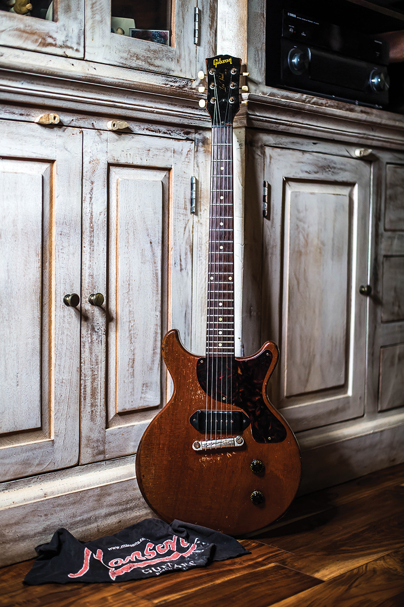 1959 Les Paul Junior formerly owned by Martin Barre of Jethro Tull