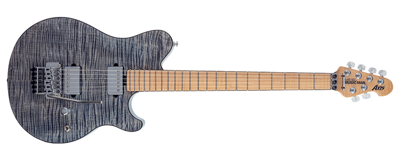 Ernie Ball Music Man October Family Reserve Collection Axis Steel Blue
