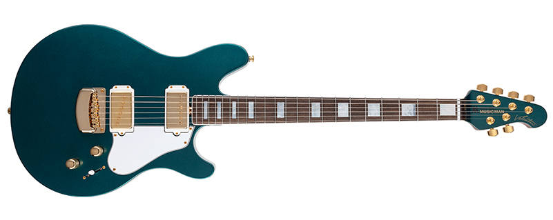 Ernie Ball Music Man October Family Reserve Collection Valentine Pine Green