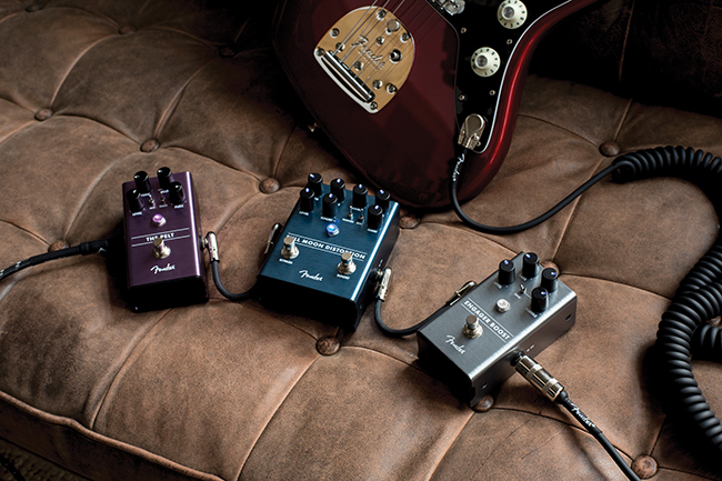 Win! Fender Effects Pedals: Engager, Full Moon & The Pelt!