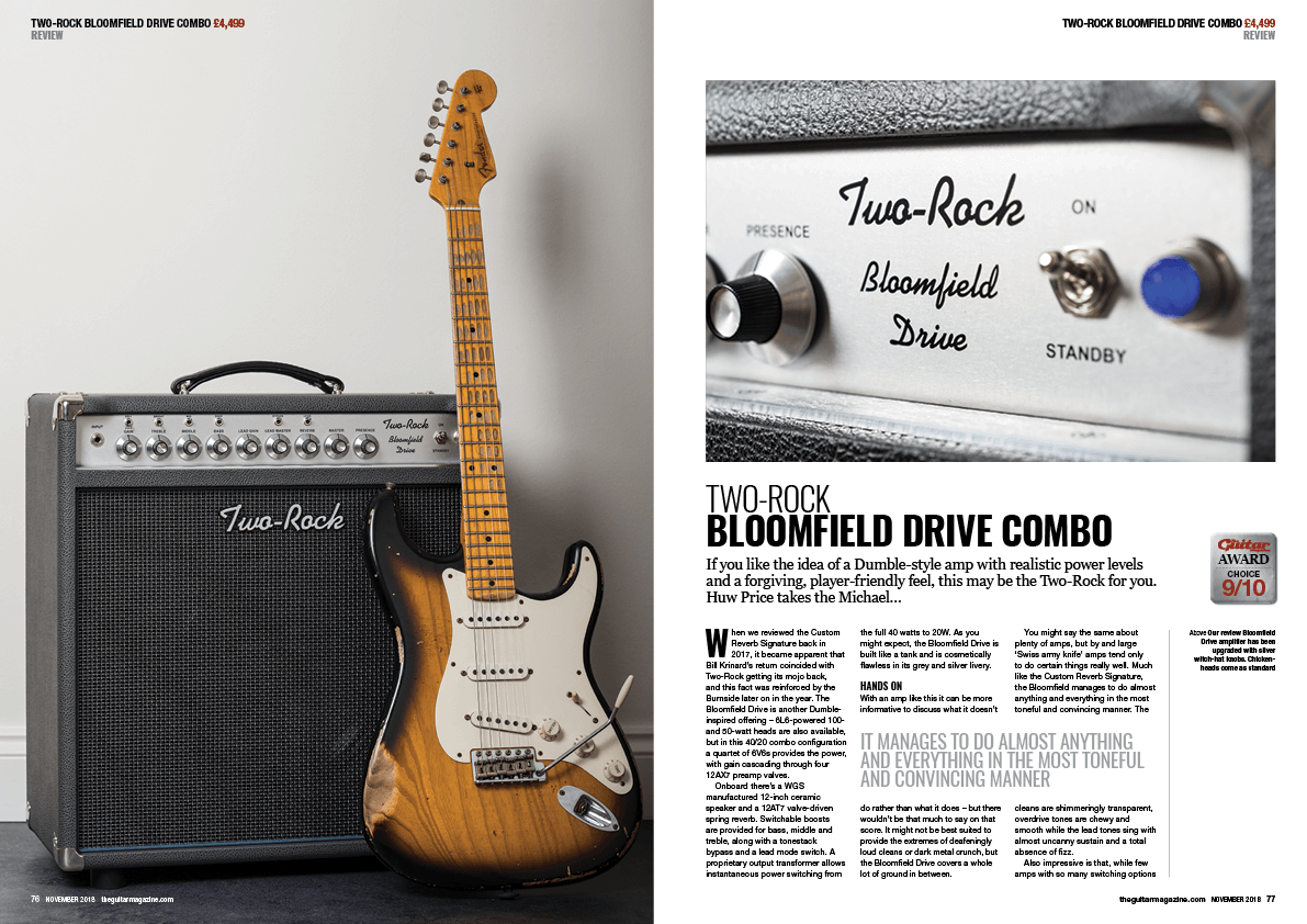 The November 2018 issue of The Guitar Magazine is out now!