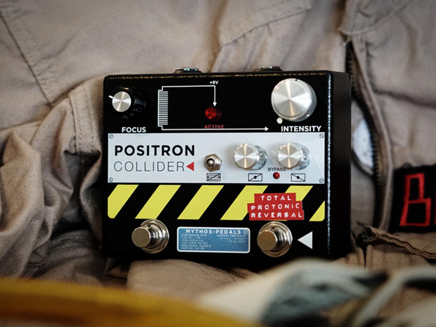 Mythos Pedals Positron Collider Fuzz Pedal