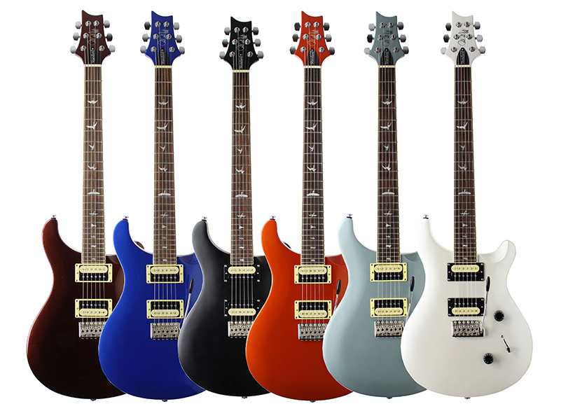 PRS releases a limited run of SE Standard 24 models in Europe
