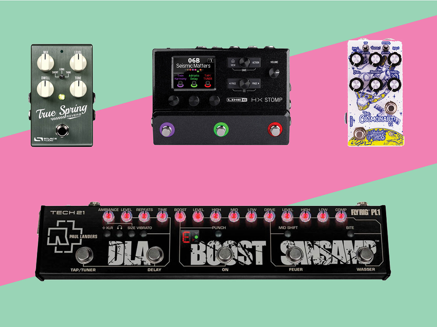 19 new pedals and effects units: November 2018