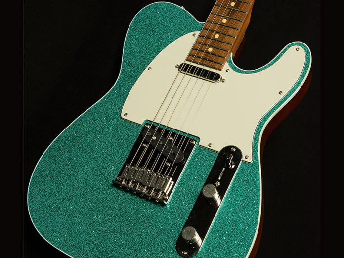 Reverend Wood Works Aqua Sparkle Limited Edition Feature Image