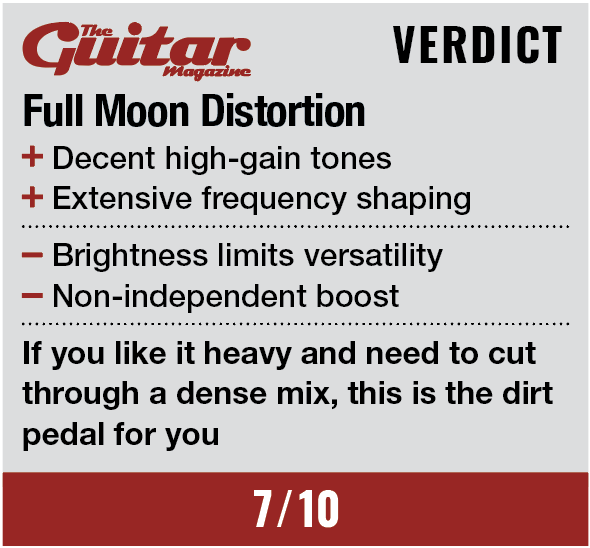Fender Engager Boost, Full Moon Distortion & The Pelt Fuzz