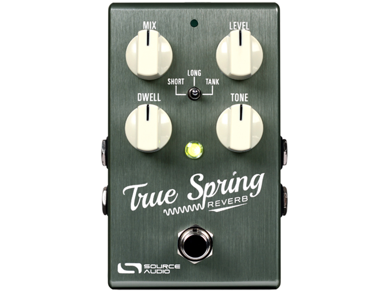 Source Audio launches the True Spring Reverb