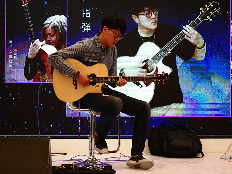Music China 2018: Taylor Guitars, Line 6, Roland and