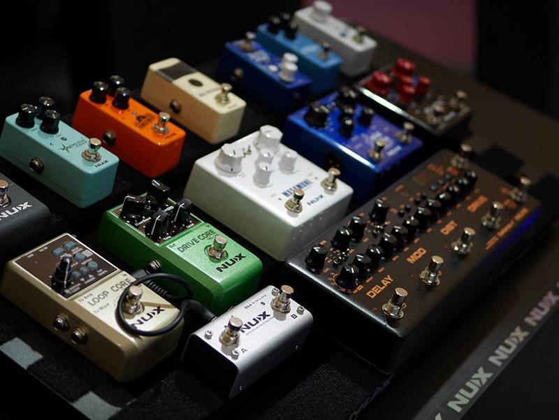 Nux pedal board Cerberus