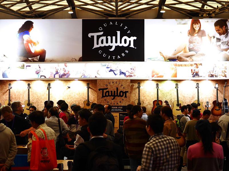 Music China 2018 Taylor