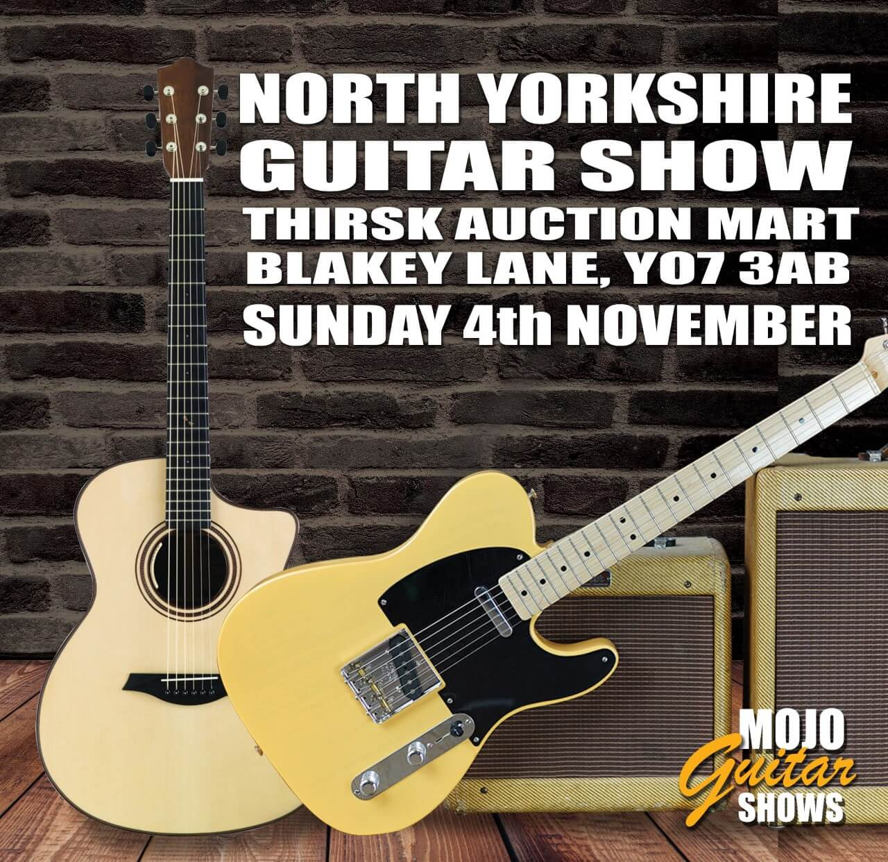 Press Release: North Yorkshire Guitar Show 2018