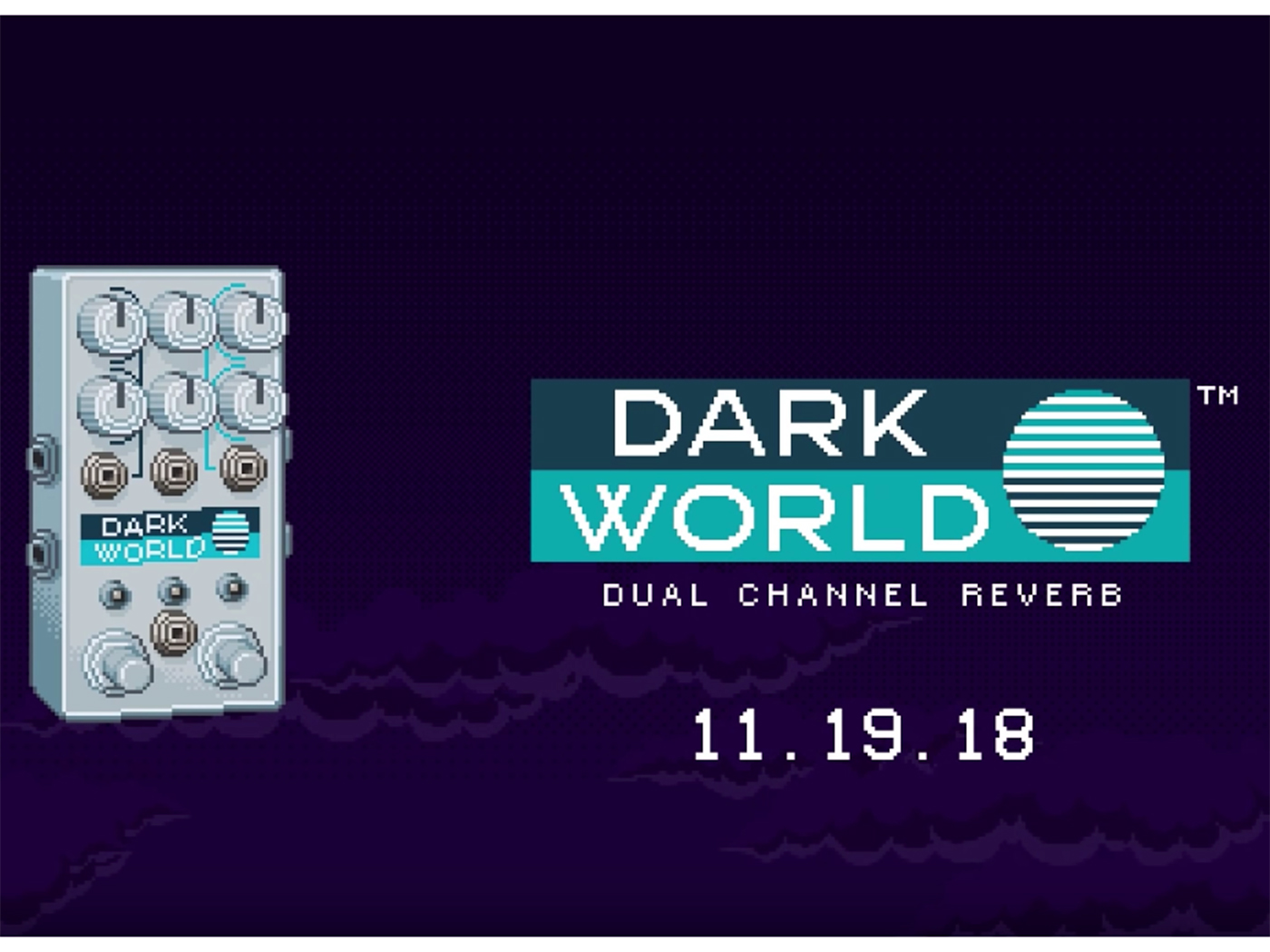 Chase Bliss Audio teases Dark World reverb pedal
