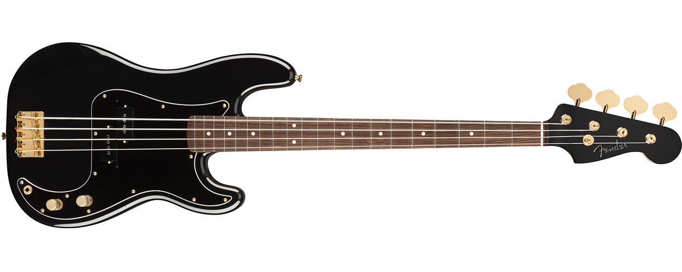 Fender MIJ midnight traditional 60s precision bass