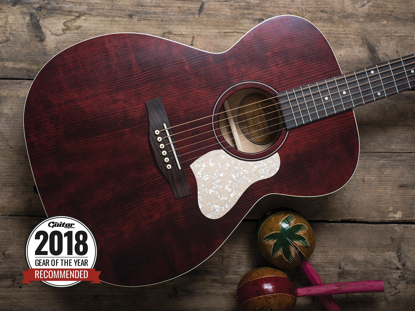 Art Lutherie Legacy Tennessee Red