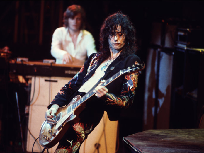 Led Zeppelin Jimmy Page Les Paul
