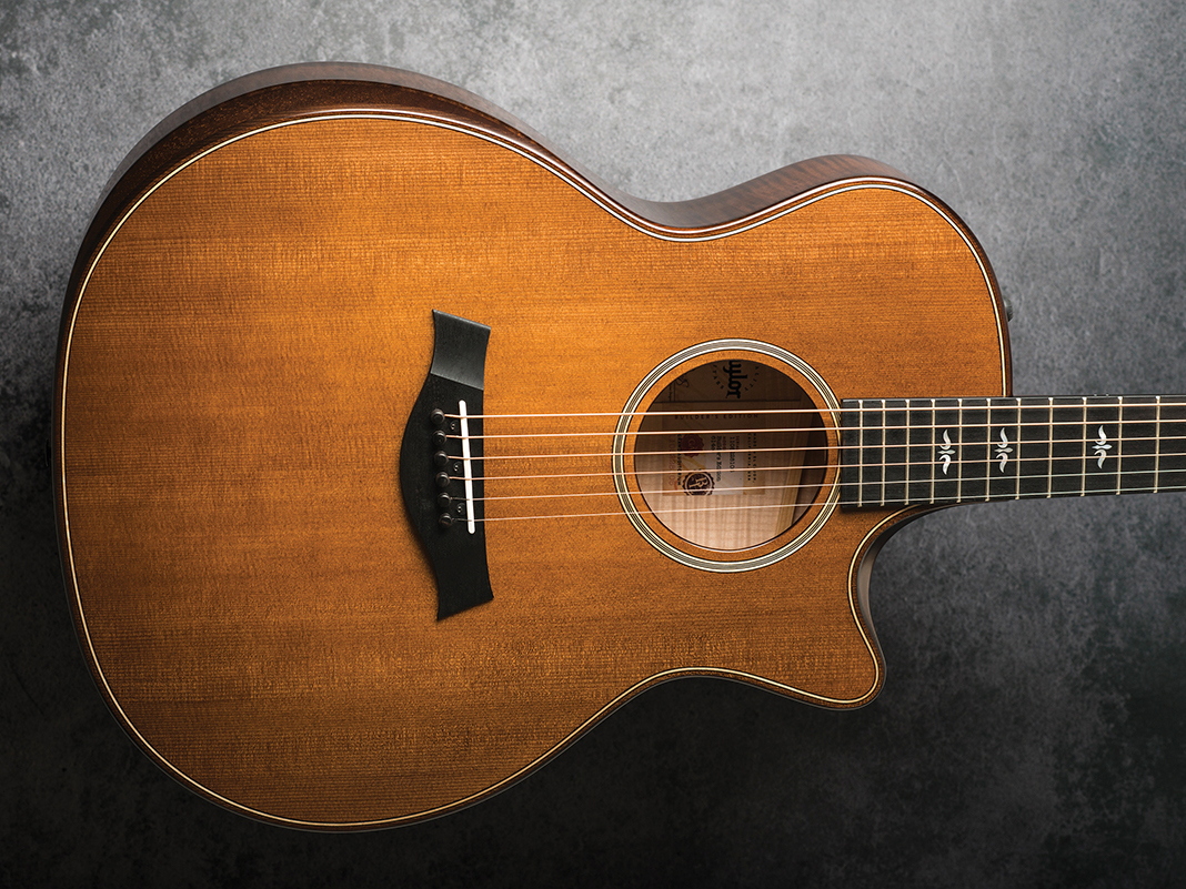 taylor 614ce 614ce builder s edition review all things guitar. Black Bedroom Furniture Sets. Home Design Ideas
