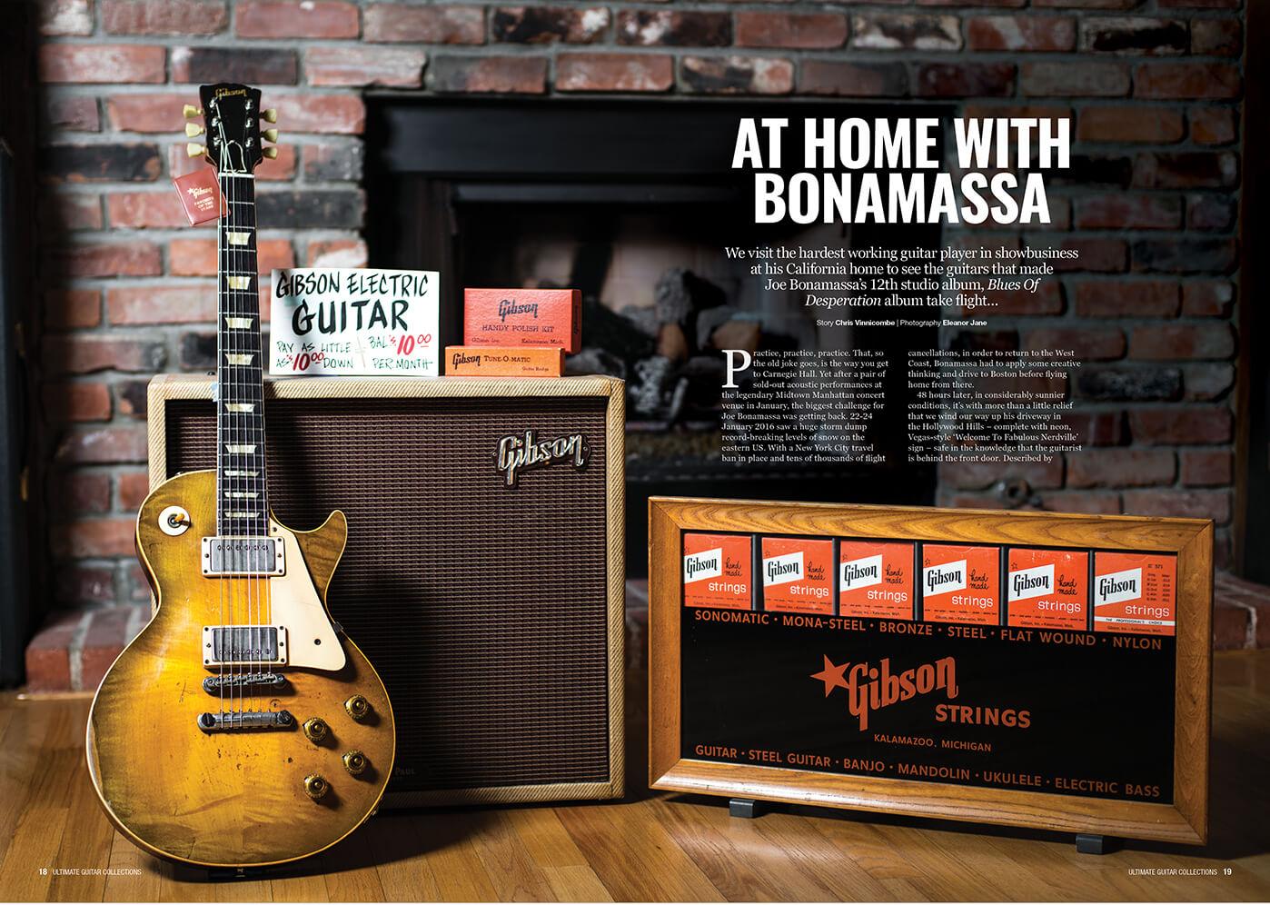 Joe Bonamassa Guitar Collection