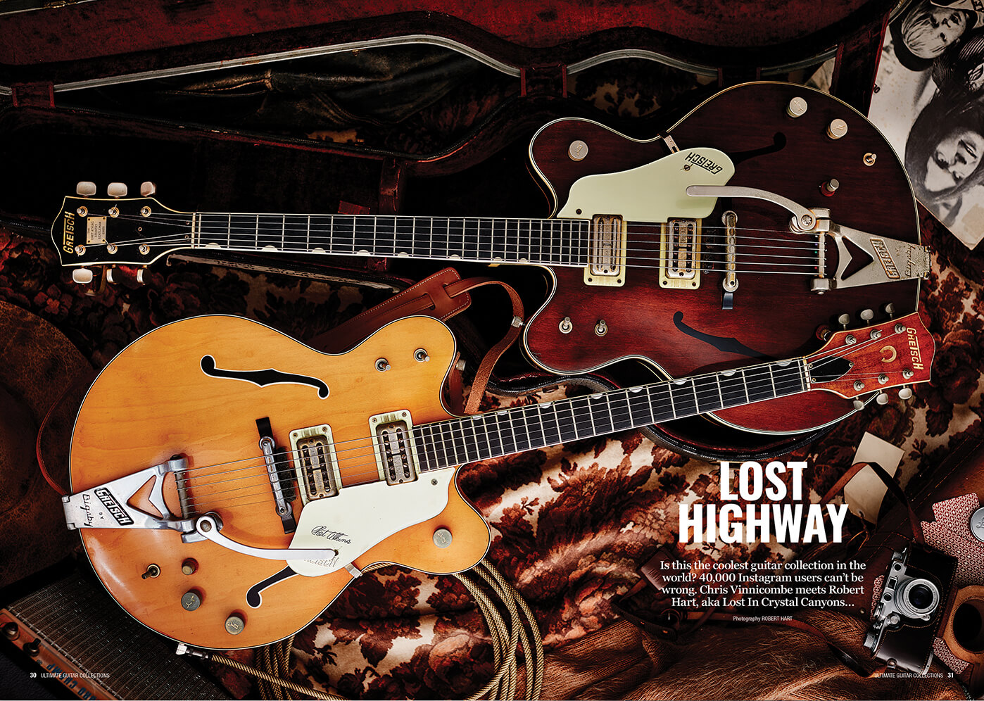 Lost in Crystal Canyons Guitar Collection