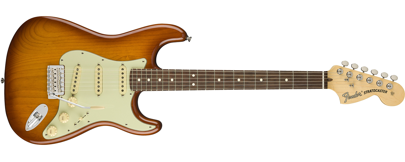 American Performer Stratocaster in Honeyburst