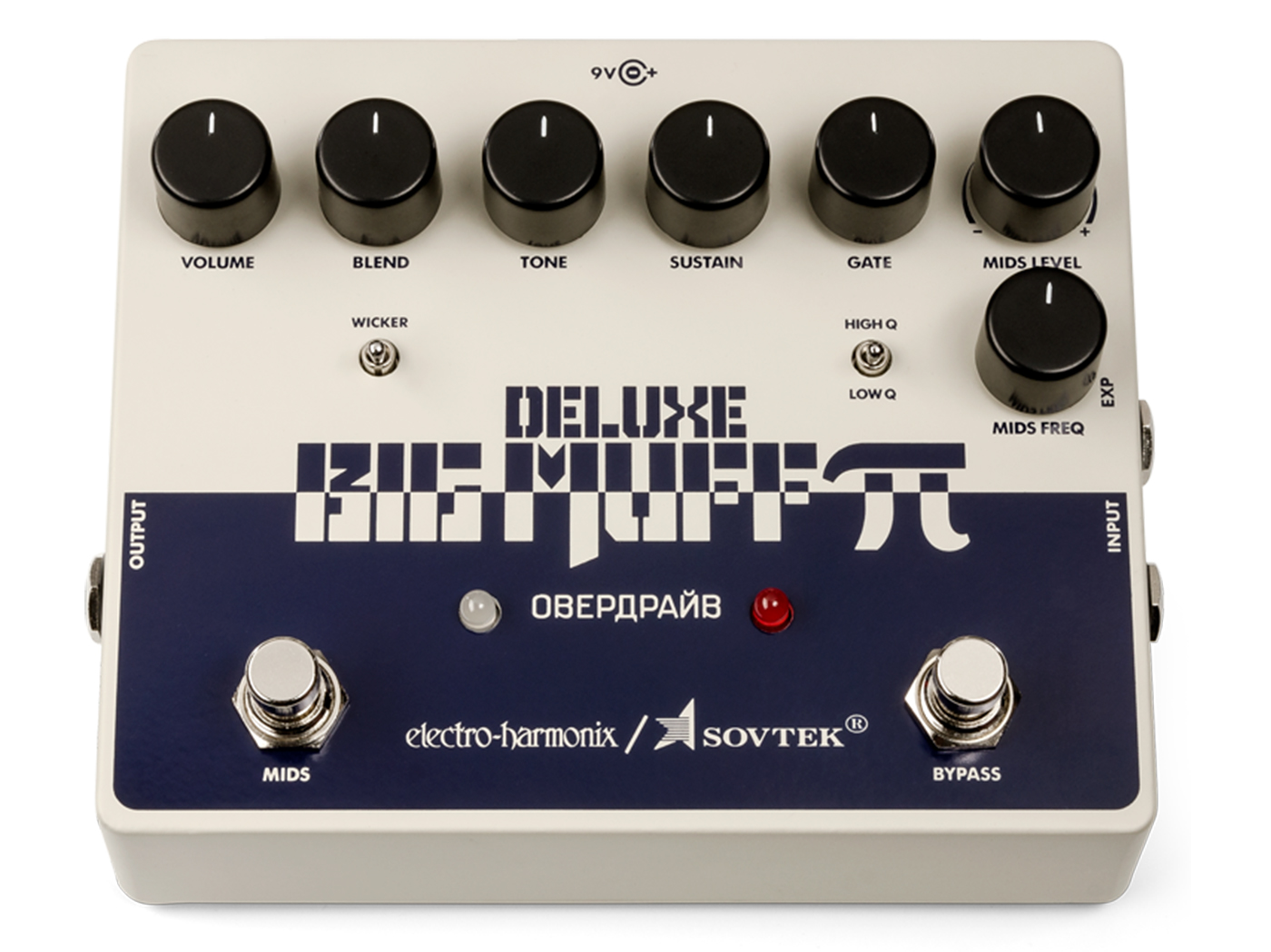 Electro Harmonix Big Muff Pi Effect Reveals The Sovtek Deluxe