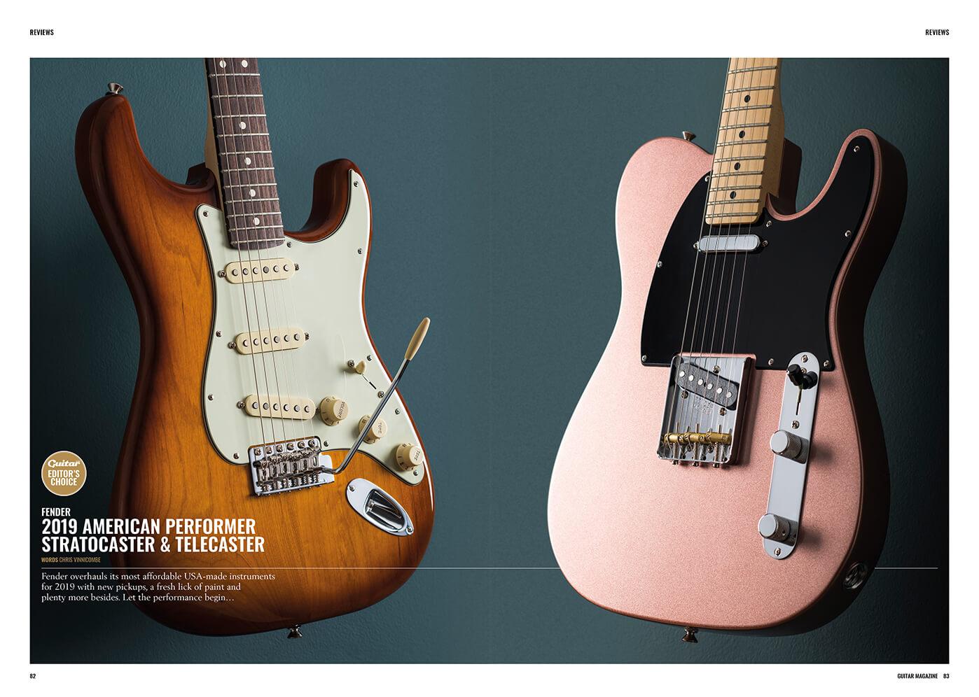 Fender american performer review