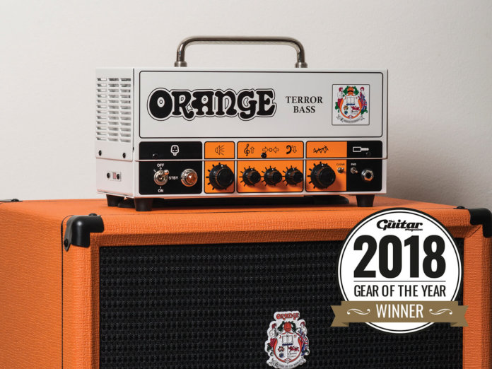 Orange Terror amp head bass