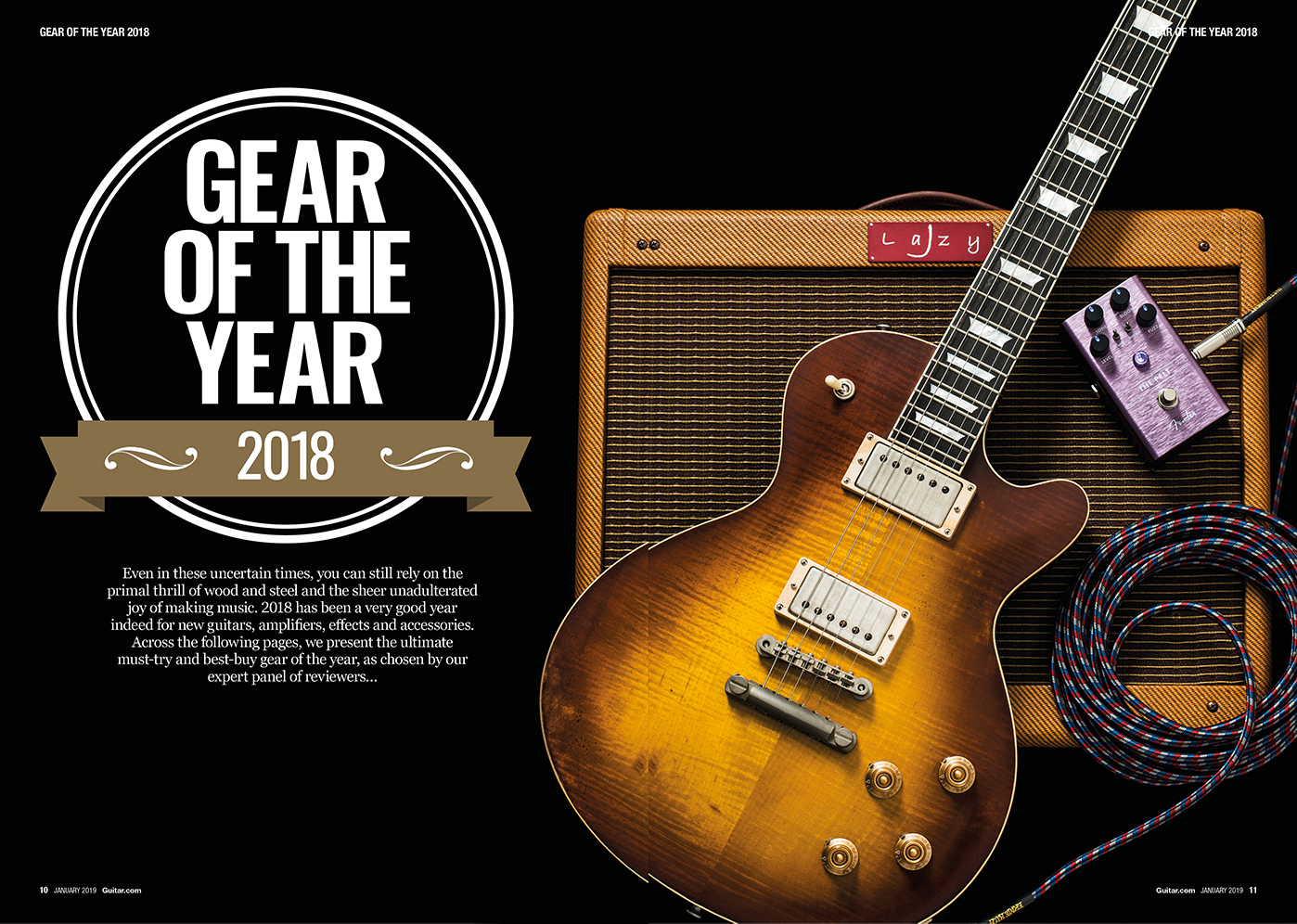 Gear of the year 2018