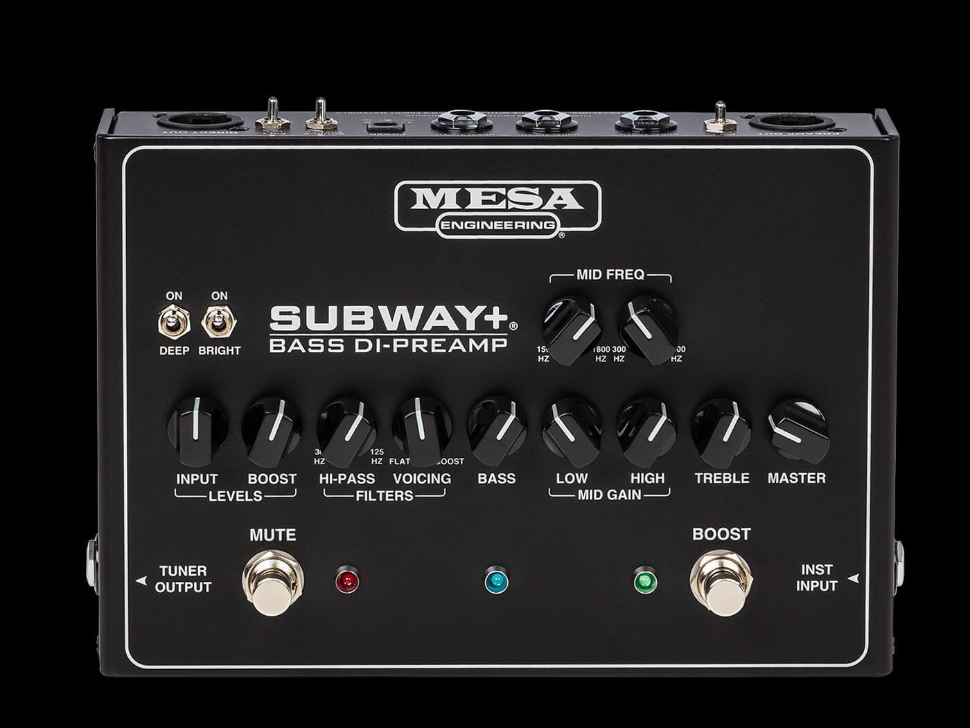 Mesa Boogie Subway Plus Bass DI-premap