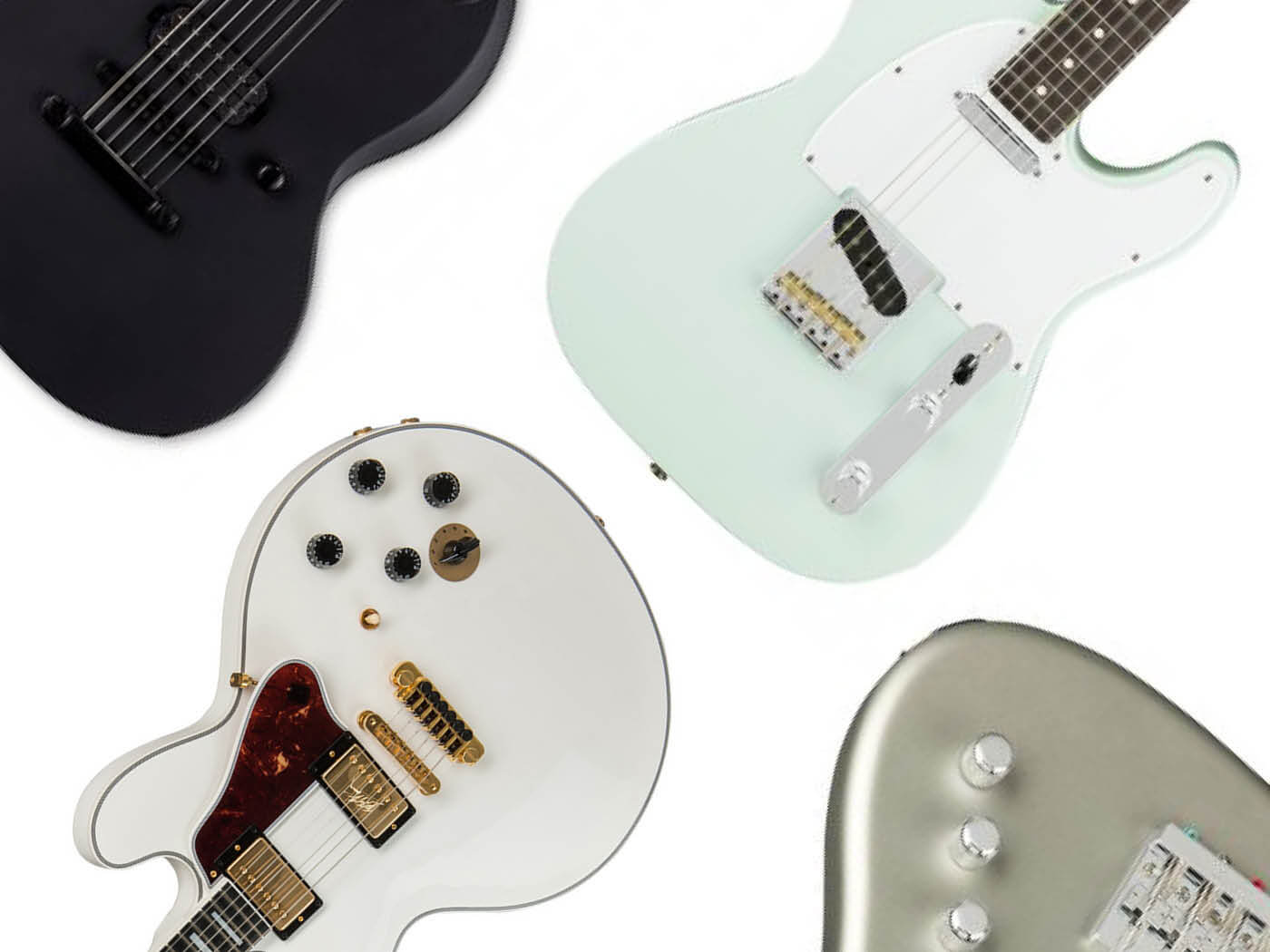 seven new electric and bass guitars january 2018 all things guitar. Black Bedroom Furniture Sets. Home Design Ideas