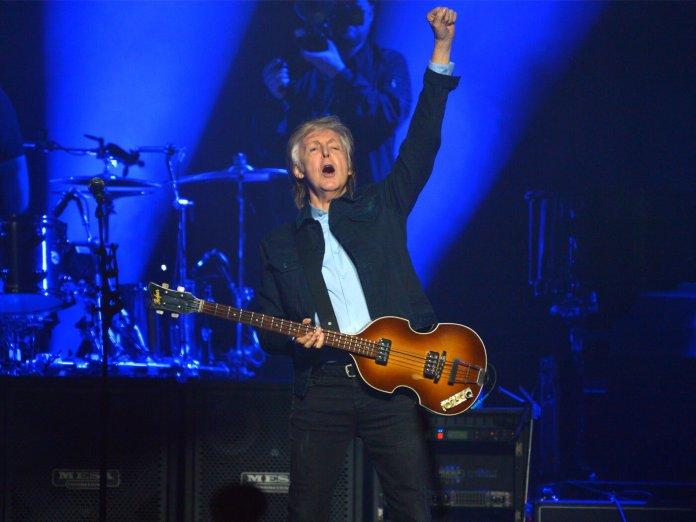 Paul McCartney London O2