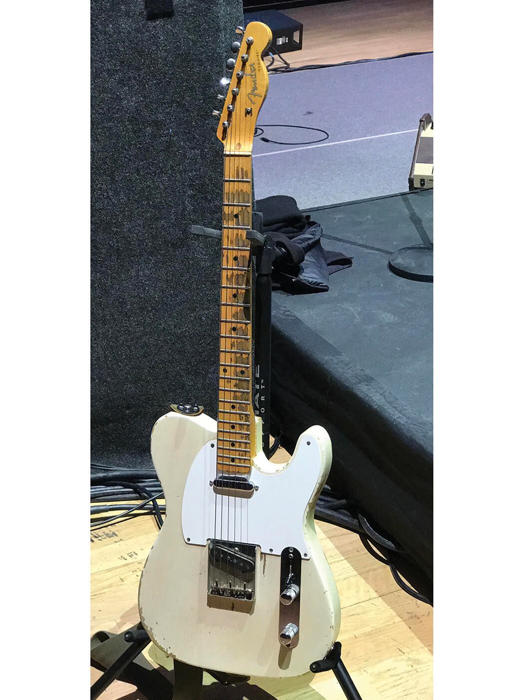 1957 blonde Fender Esquire