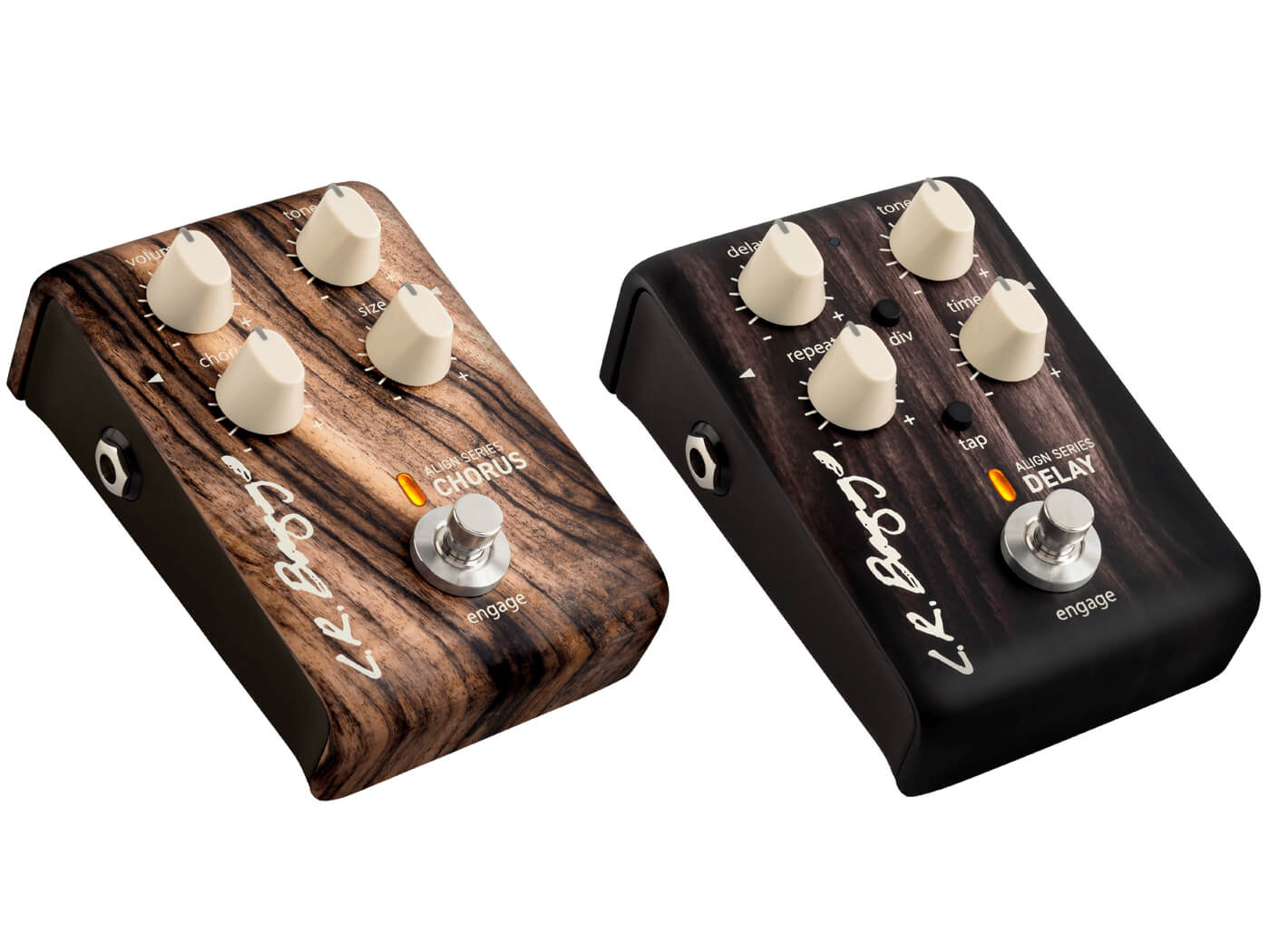 NAMM 2019: LR Baggs adds two pedals to its Align Series