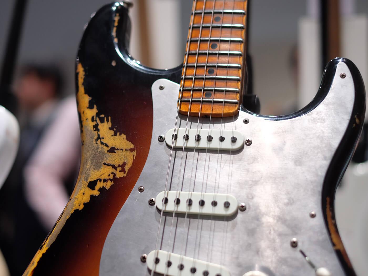 El Diablo Strat Heavy Relic, Wide Fade 2 Tone Sunburst