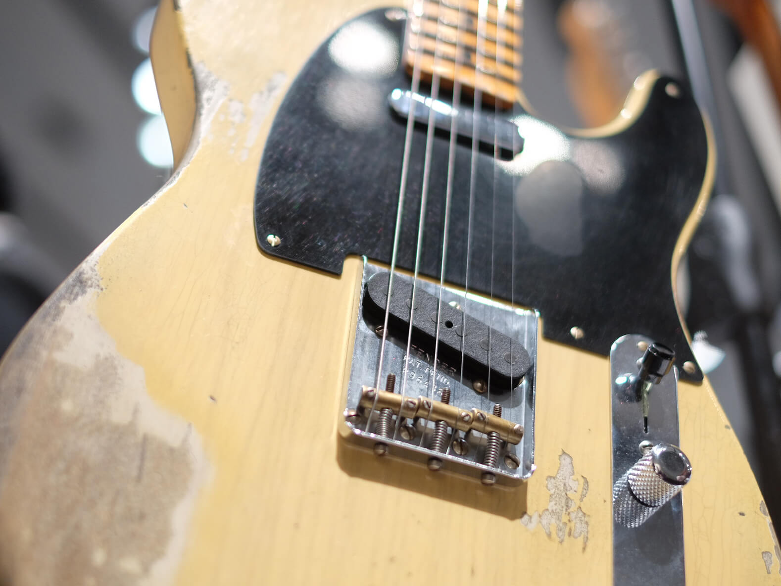 1951 Nocaster Heavy Relic, Faded Nocaster Blonde
