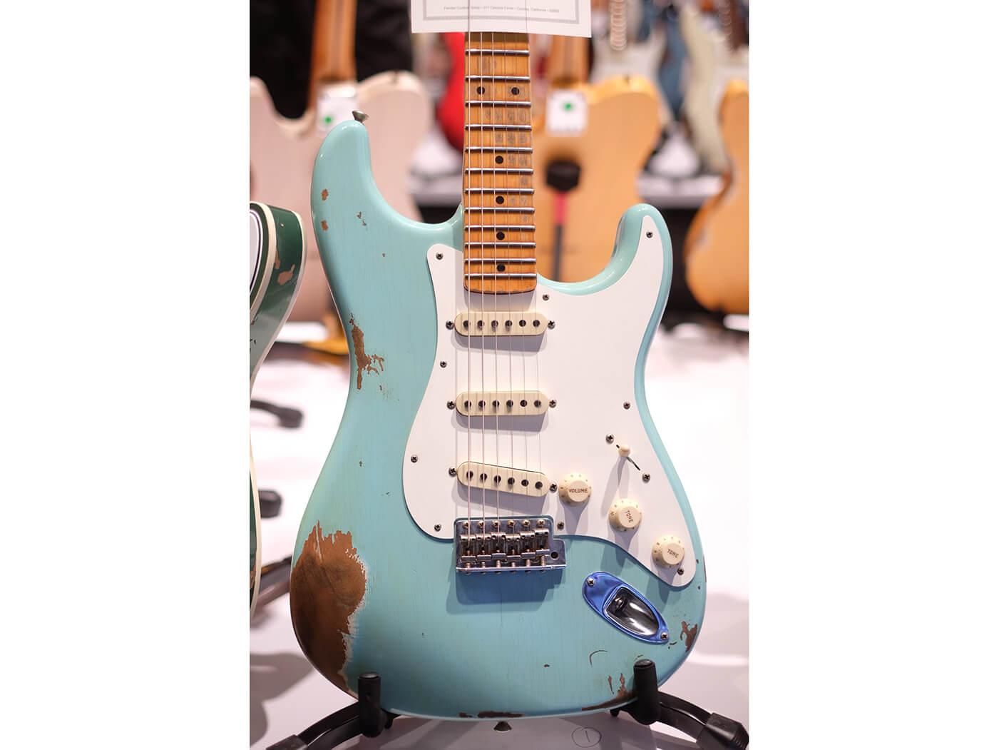 1959 Stratocaster Heavy Relic, Aged Daphne Blue