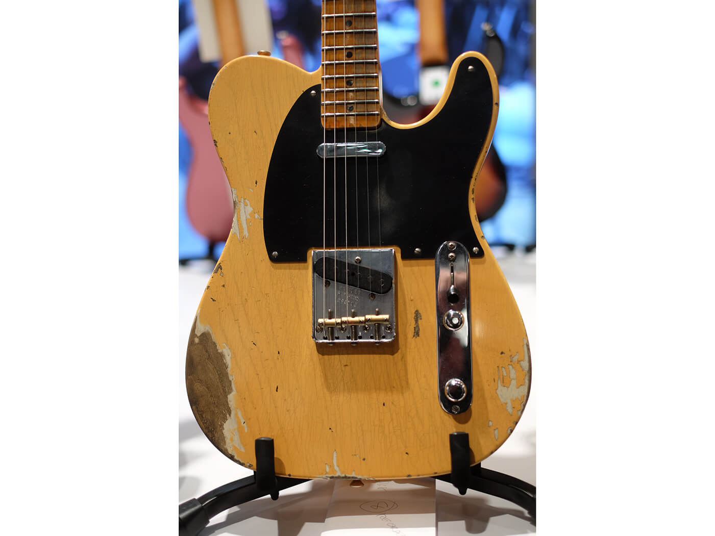 Heavy Relic 1952 Telecaster, Aged Nocaster Blonde