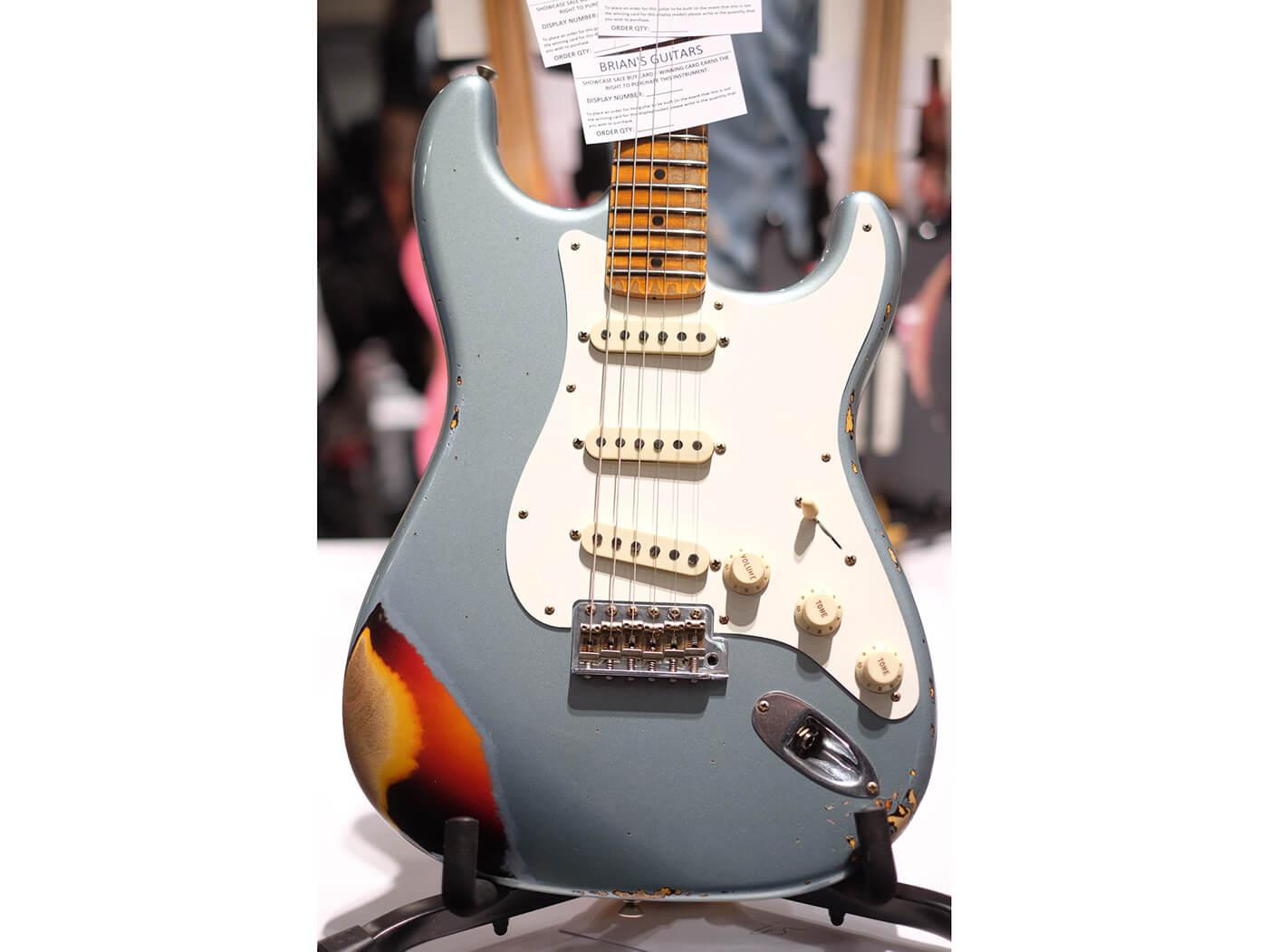 Limited Edition 1959 Stratocaster MN Journeyman Relic, Aged Blue Ice Metallic Over Chocolate 3 Tone Sunburst