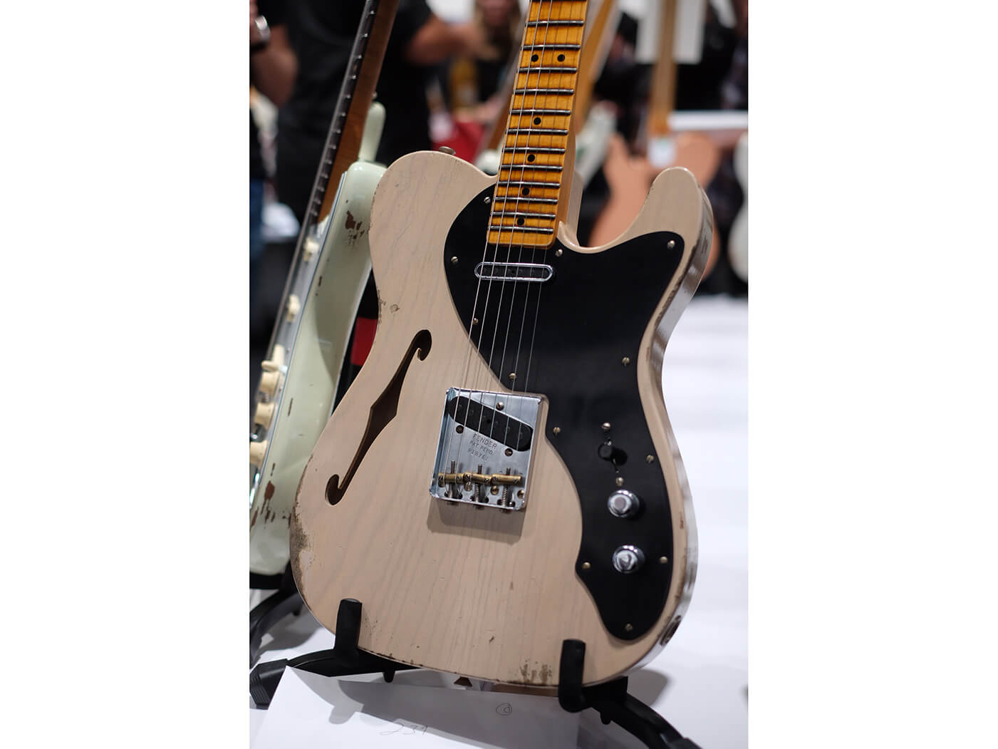 2019 Limited Edition Loaded Thinline Nocaster, Aged Dirty White Blonde