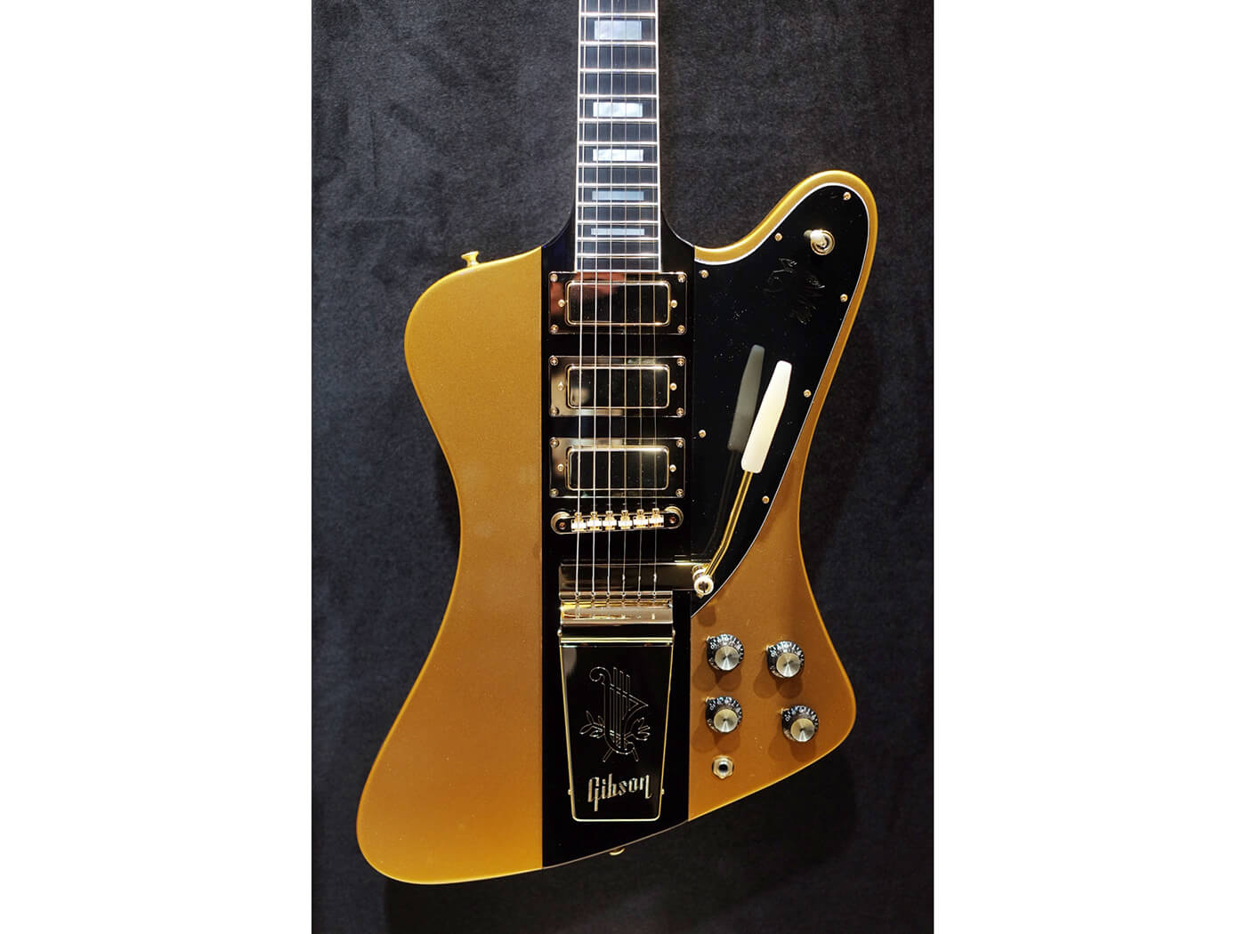 Firebird VII 2-Tone Antique Gold & Ebony