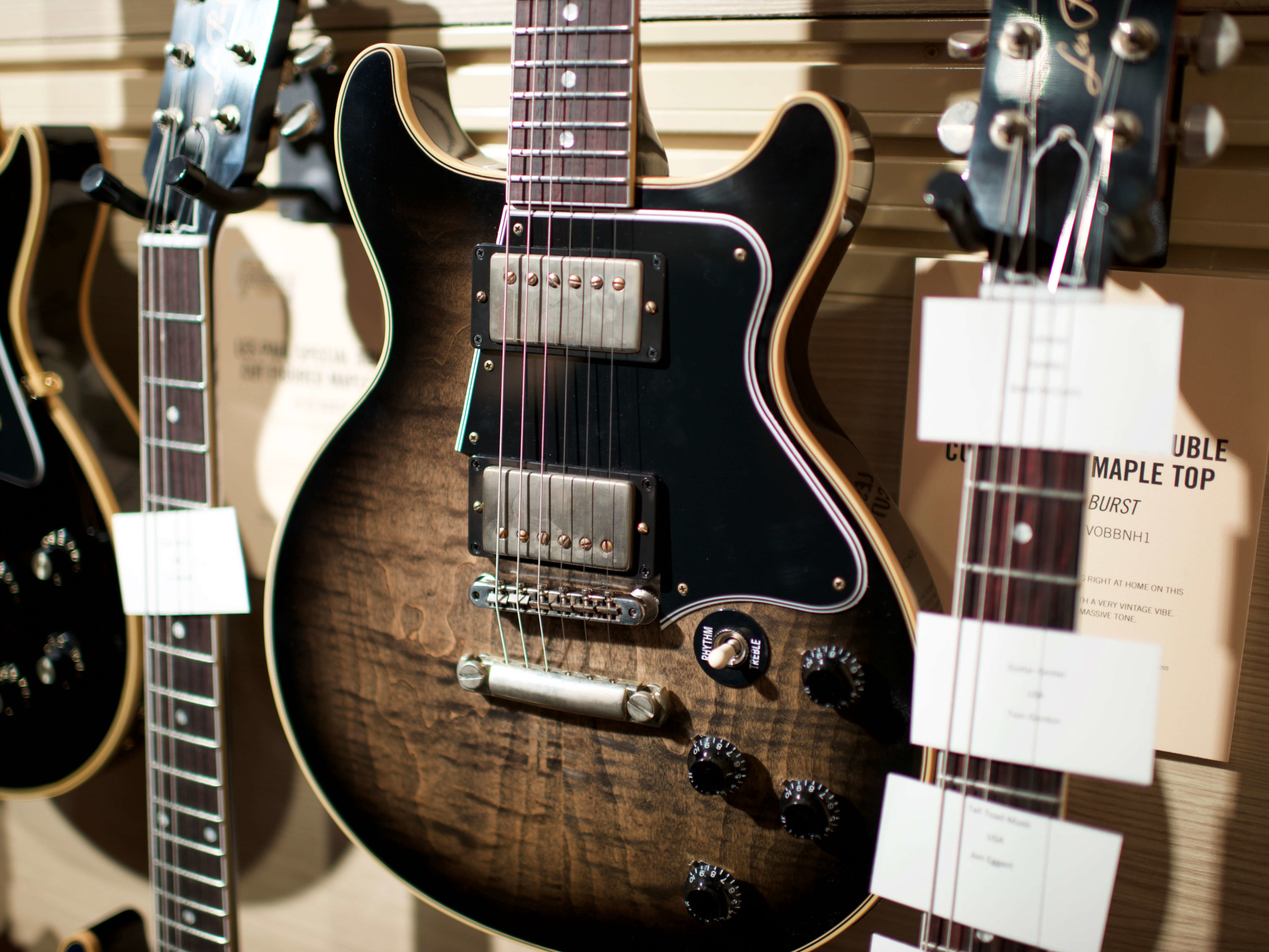 The Gibson Les Paul Special Double Cut Figured Maple Top